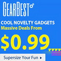 Novelty Gadgets Massive Deals from $0.99 from Gearbest