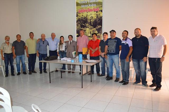 Reunião extraordinária do Conselho Municipal de Saúde discutiu saúde pública