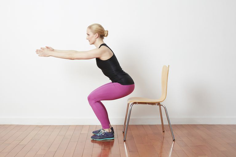 How to Master Chair Squats to Stay Active in the Office - Image 1