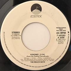 THE BEACH BOYS:KOKOMO(LABEL SIDE-A)