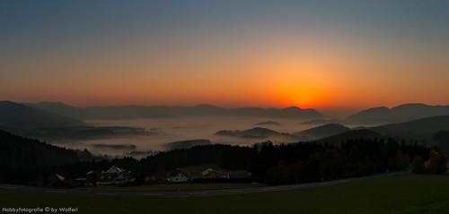Sonnenaufgang Rechberg 141018
