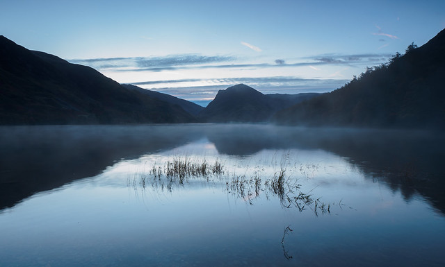 Buttermere mist at dawn