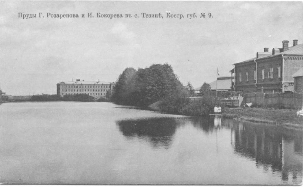 Пруды Г.Разаренова и И.Кокорева в с.Тезине