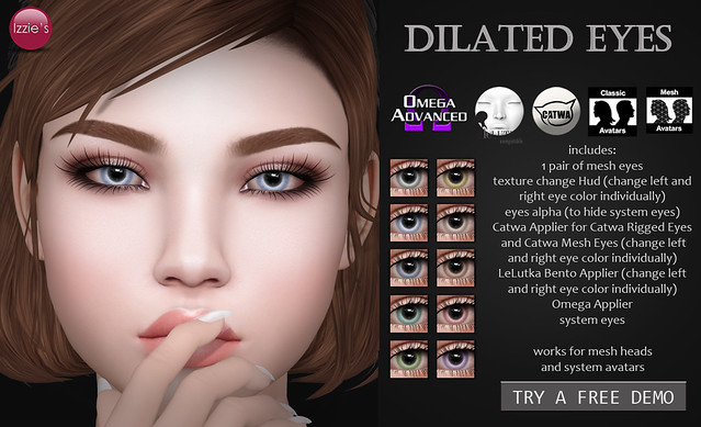 Dilated Eyes (for Uber)