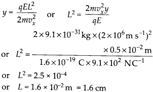 NCERT Solutions for Class 12 Physics Chapter 1 Electric Charges and Fields 40