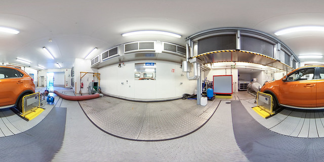 360 image of chassis dyno