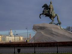 Saint PetersburgSaint - Bronze Horseman (Медный всадник) 2