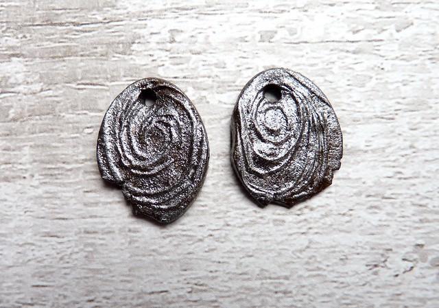 Ancient tribal ceramic jewellery components