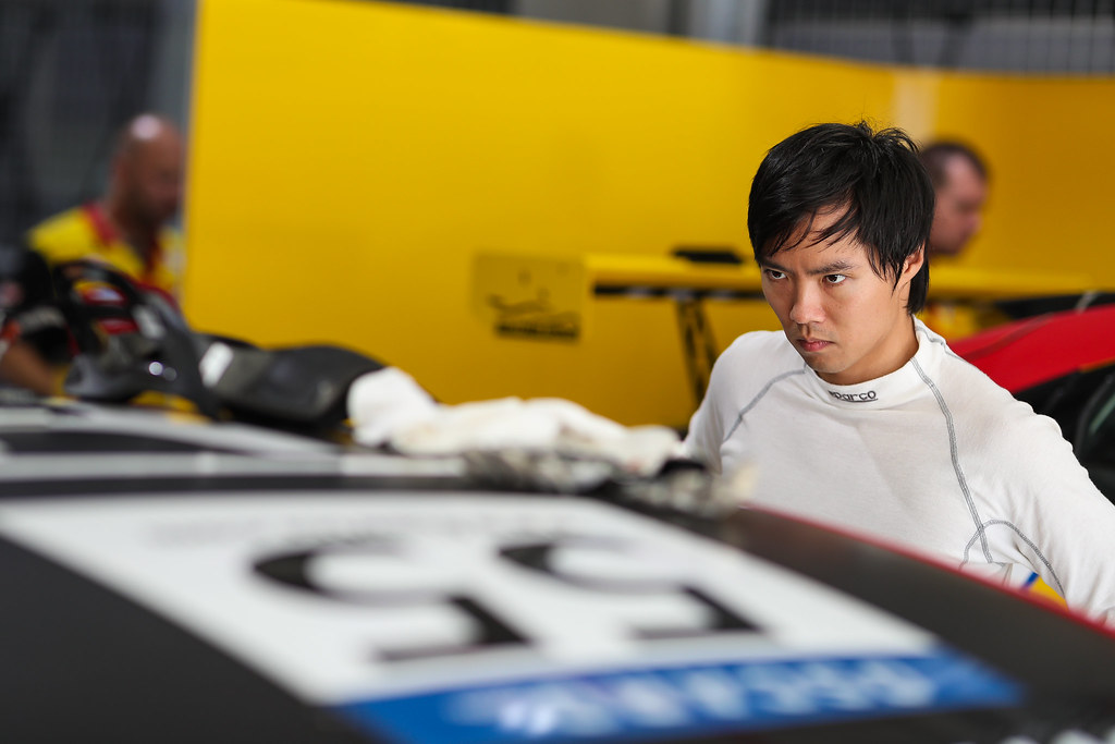 QING HUA Ma (chn), Honda Civic TCR team Boutsen Ginion Racing, portrait, during the 2018 FIA WTCR World Touring Car cup of China, at Ningbo  from September 28 to 30 - Photo Marc de Mattia / DPPI