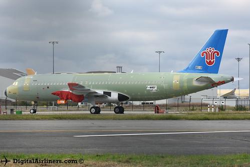 F-WWBF / B-301Y Airbus A320-251N msn 8518 China Southern