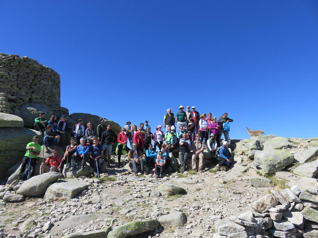 Iniciado el segundo período de rutas senderistas con la asistencia al Parque Nacional de la Sierra de Gredos