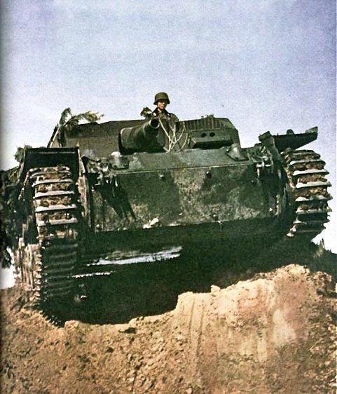 德国自行火炮突击炮三