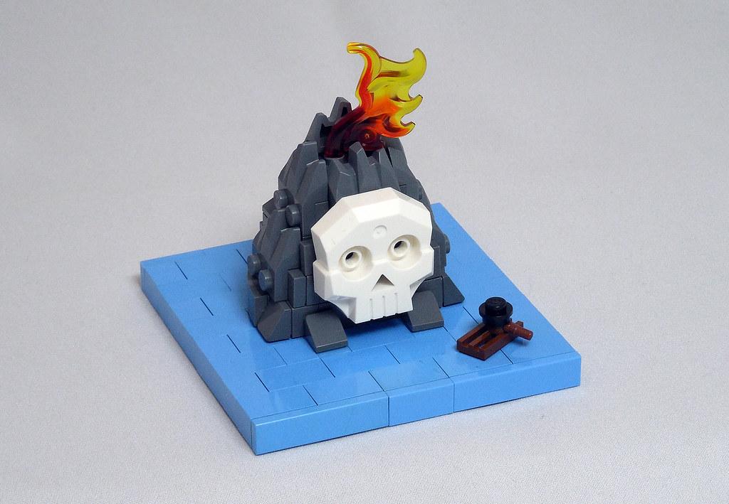 LEGO® MOC by Vitreolum: 6248 Volcano Island Micro