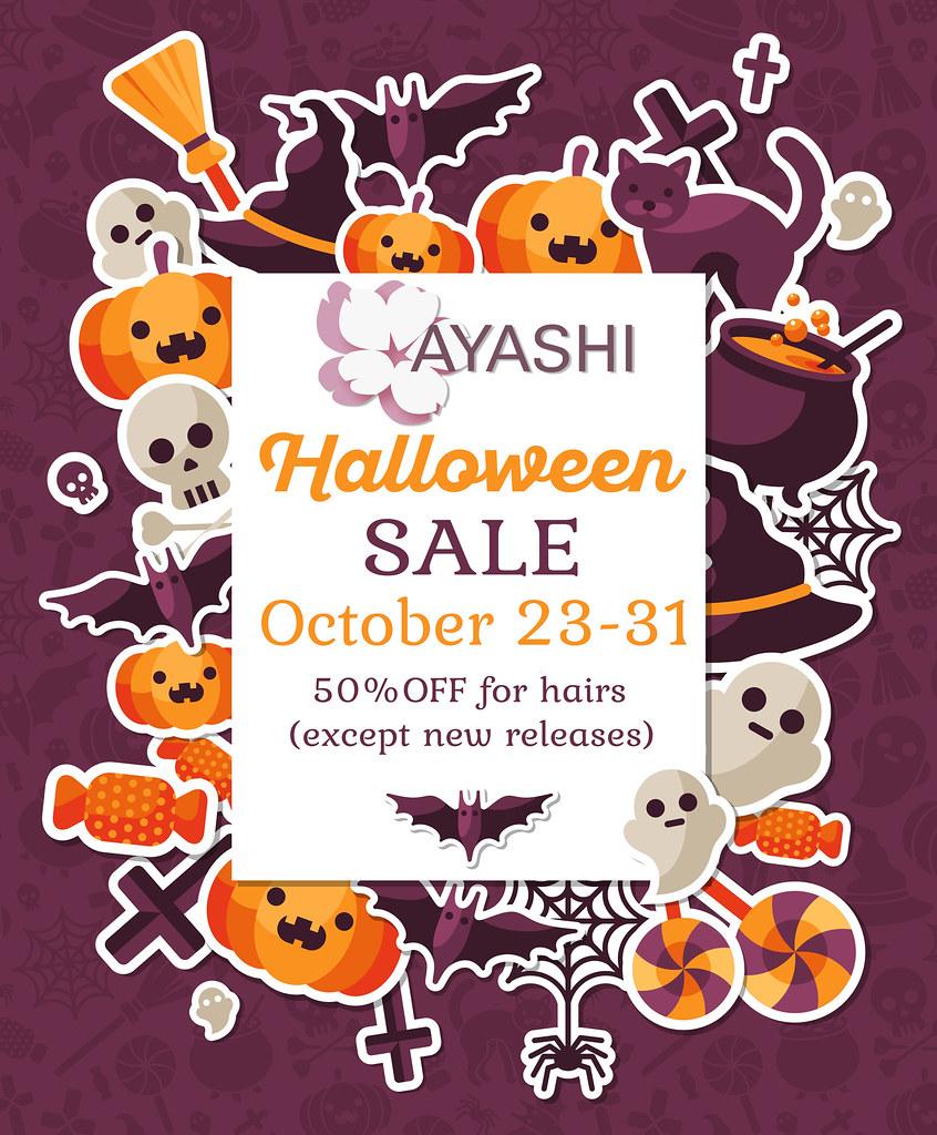 [^.^Ayashi^.^] Halloween SALE