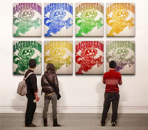 Raccoongaine Warhol