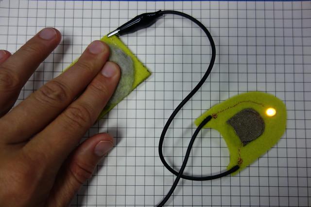 E-Textile sensor tester