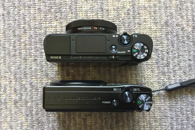 RX100M3 vs CX4