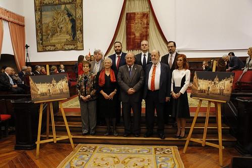 Nombramiento de Socios de Honor y entrega de premios ALUMNI