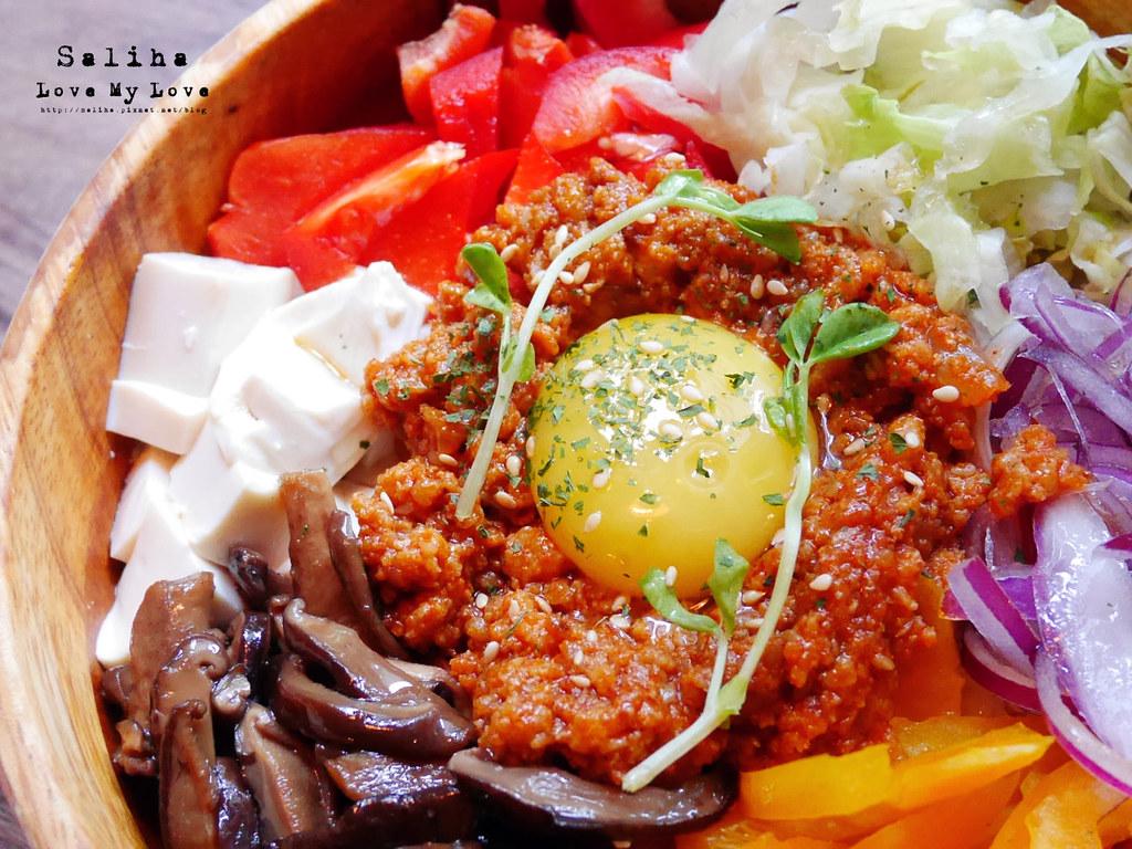 台北2J CAFE好吃餐點推薦韓式拌飯烤餅 (4)