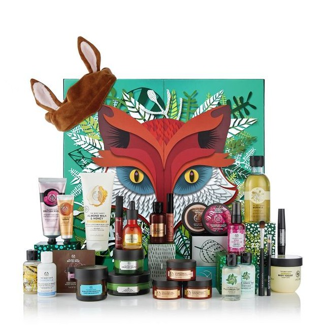 The Body Shop joulukalenteri