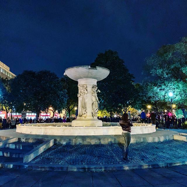 2018.10.25 Vigil for Matthew Shepard, Washington, DC USA 2723