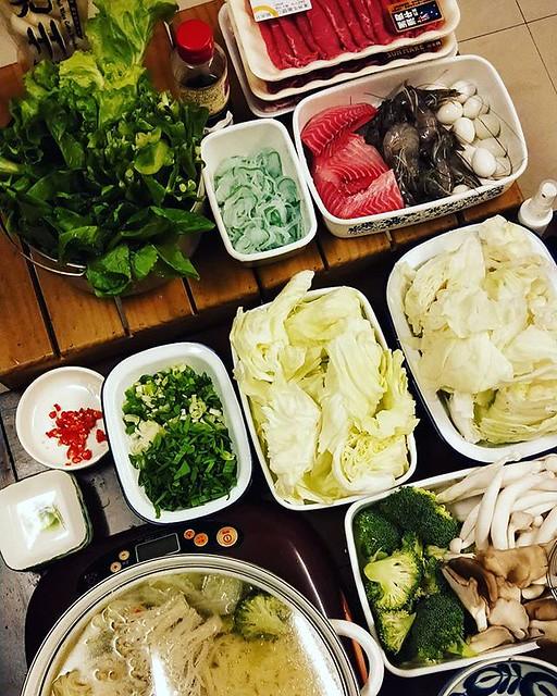 20181107 今晚立冬吃火鍋 #葛蘿的餐桌