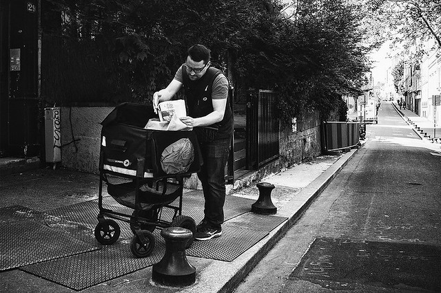 Distribution du courrier, Canon EOS 5D MARK III, Canon EF 28mm f/2.8