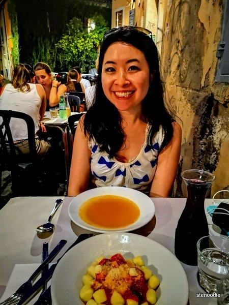 Dinner at Trattoria da Augusto