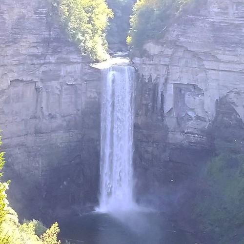 Taughannock Falls #taughannockfalls #waterfall #ithaca