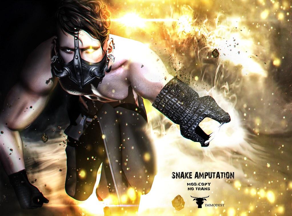 IMMODEST ::Snake Amputation::
