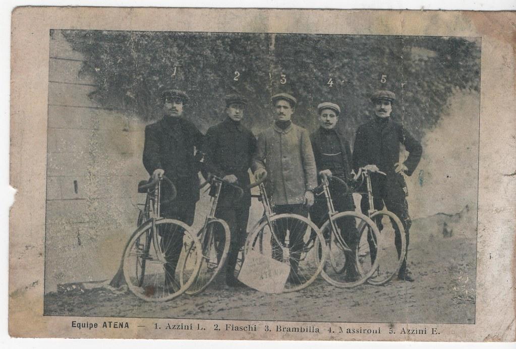 Squadra Atena 1910 - foto cortesia Paolo Serino