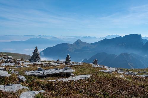 Stumme Wächter der Alpen / Silent guards of the Alps
