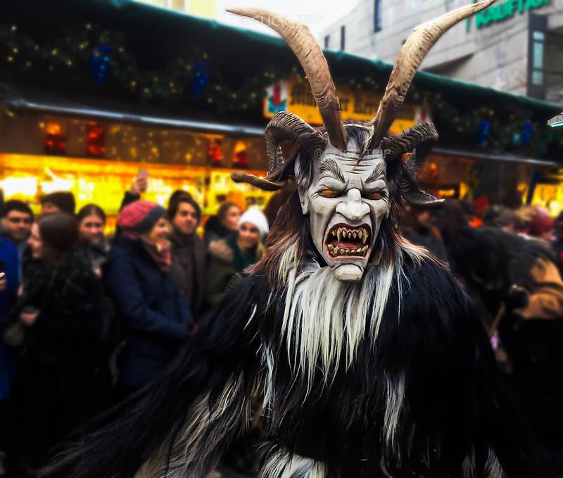 · Desfile de Krampus, el demonio de la Navidad ·