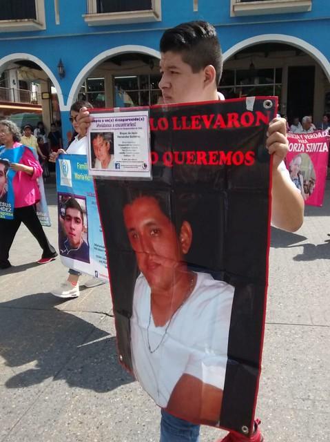 marcha desaparecidos Xicotepec 9