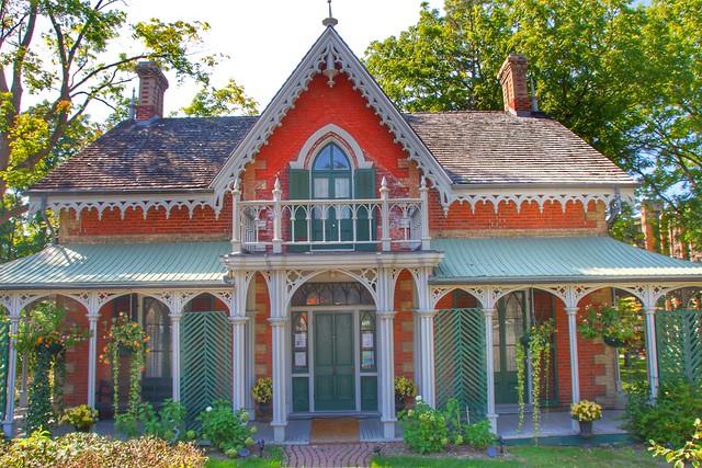 Aurora Ontario - Canada  - Hillary House Museum - Historical Society - Heritage Building