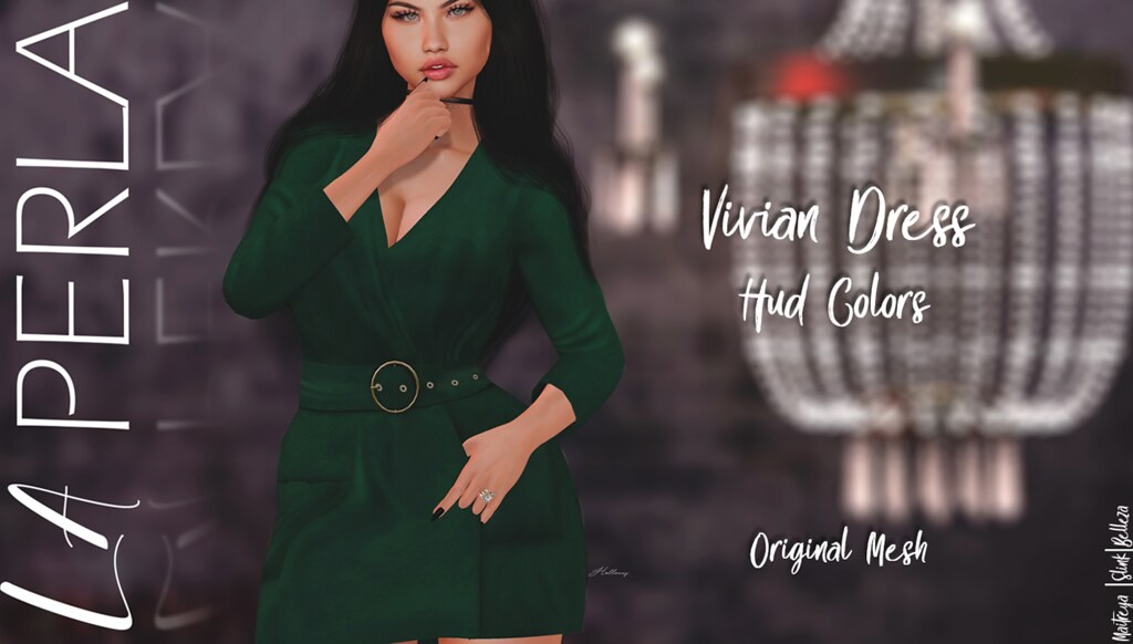 {LP} - Vivian Dress - TeleportHub.com Live!