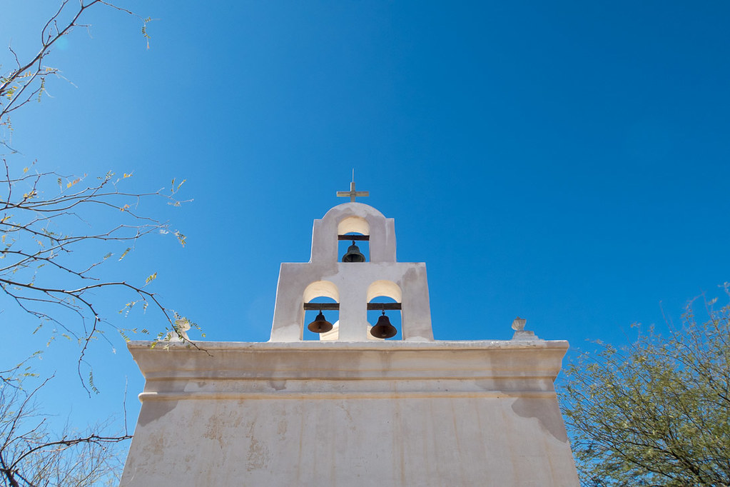 Church bells at Mission San Xavier