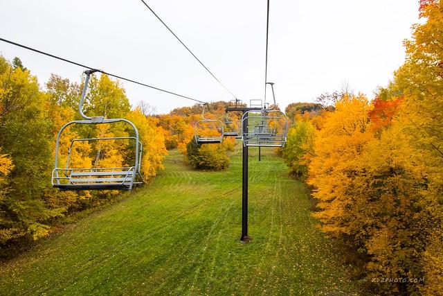 enjoy an Autumn Ski Ride