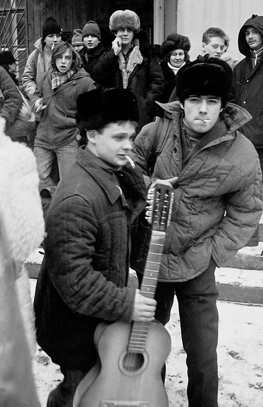 Лица Советской эпохи. Часть 357. 1988. Проводы в армию