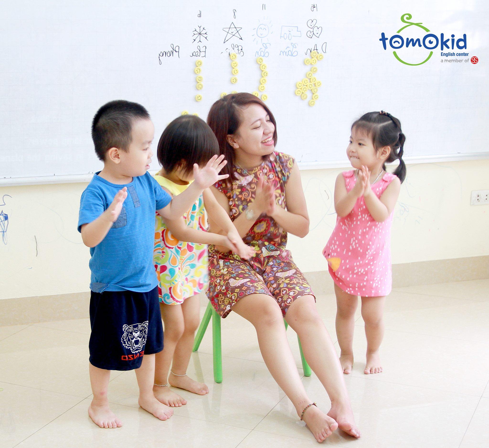 trung tâm Tiếng Anh cho trẻ em Tomokid
