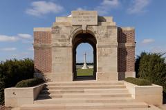 Duisans Cemetery Entrance