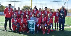 CMS VARSITY GIRLS TORONTO CITY CHAMPIONS 2018 ACA PHOTO