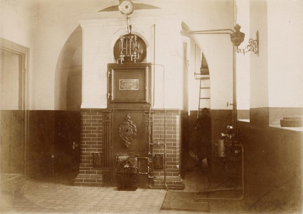 Котельная технического училища. 1909 г.