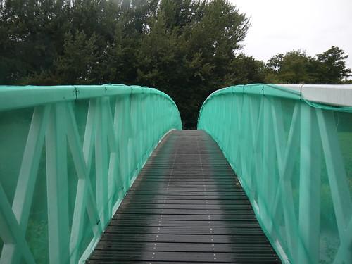 Golfer's Bridge - now a ROW