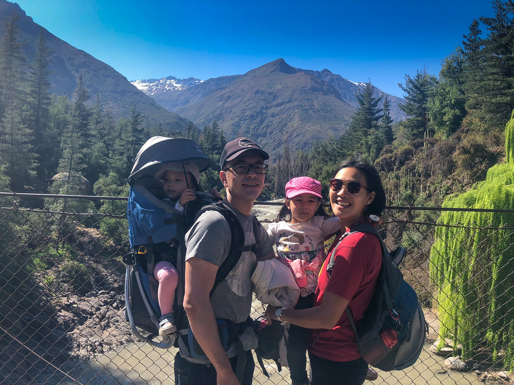 We spent the day in the foothills of the Andes an hour out of Santiago