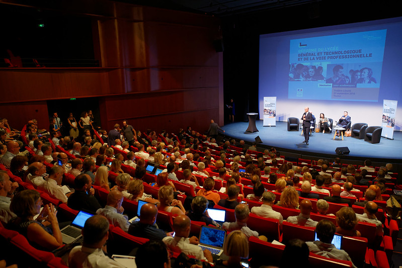 Lycée: séminaire du 21 septembre - Académies de Nice, Aix-Marseille et Corse