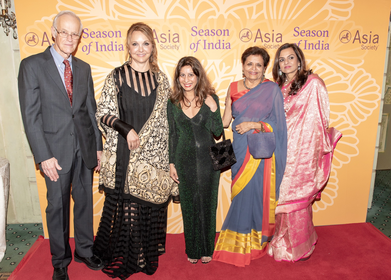 16. Robert Oxnam, Josette Sheeran, Dr Zehra Jumabhoy, Vishakha Desai, Sangita Jindal