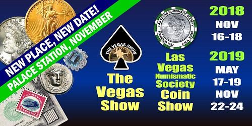 Las Vegas Coin Show E-Sylum ad 2018-10-14
