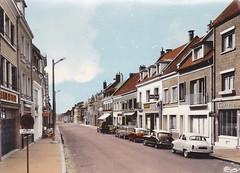 Postcard Grandvilliers (60 Oise) Rue Frédéric Petit Editions CIM