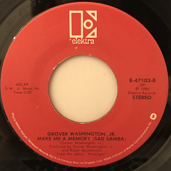 GROVER WASHINGTON, JR.:JUST THE TWO OF US(LABEL SIDE-B)